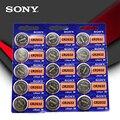 15 шт./лот SONY оригинальный cr2032 кнопочный аккумулятор 3 в монета литиевая батарея для часов пульт дистанционного управления калькулятор cr2032