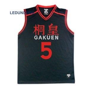 Image 2 - อะนิเมะKuroko No Basukeตะกร้าคอสเพลย์GAKUENโรงเรียนเครื่องแบบAomine Daikiชายกีฬาเสื้อยืดกางเกงขาสั้นชุดเครื่องแต่งกาย4 5 6