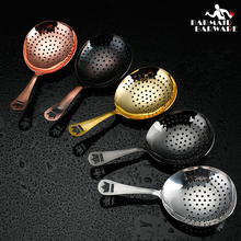 Julep Bar Cocktail Strainer 304 Stainless Steel Copper Plated Gold Plated Black Bar Tool ноутбук msi gl63 8rc 468xru core i7 8750h 16gb 1tb nv gtx1050 2gb 15 6 fullhd dos black