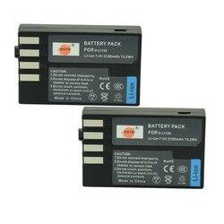 DSTE 2 PCS D-LI109 Có Thể Sạc Lại Pin cho Pentax K-30 K-R K-50 K-500 Máy Ảnh Kỹ Thuật Số
