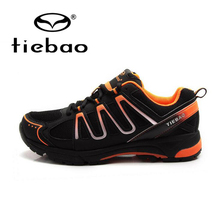 Tiebao MTB Road Cycling Shoes Men Bike Bicycle Shoes Leisure Sneaker Racing Athletic Self Locking Shoes