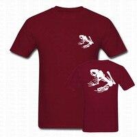Estate US Navy Seals Team Scheletro Rana Maglietta Uomini Donne harajuku marca clothing stampa o collo in cotone manica corta t-shirt tees