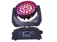Zoom LED Moving Head Light Wash Light DJ Effect Light With 36Pcs 18W RGBWAUV Or RGBAY