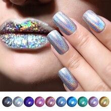 6 мл BORN PRETTY Deluxe голографический лак для ногтей с лазерным блеском супер блестящий маникюрный лак для ногтей Holo Nail Art Vernis
