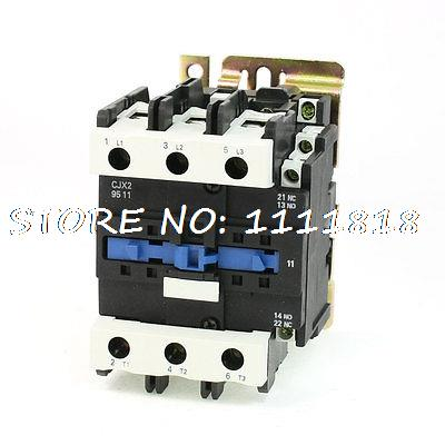 Motor Control AC Contactor AC-3 45KW 125A 3P 3 Pole 380 Volts CoilMotor Control AC Contactor AC-3 45KW 125A 3P 3 Pole 380 Volts Coil