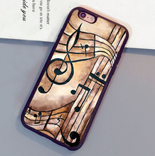 Music Notes Phone Case for iPhone 8 7 6 Plus X XR XS Max