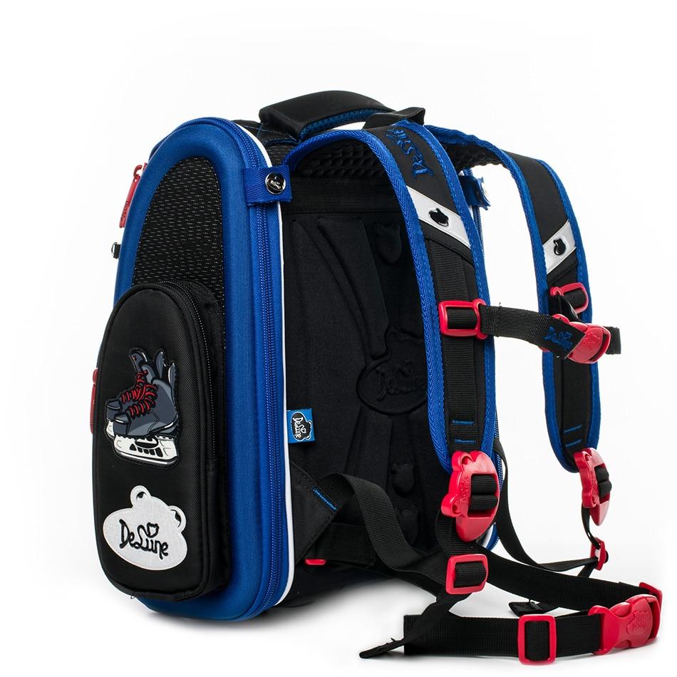 Delune enfants haute qualité 3D cartoon Cars sacs d'école garçons filles étudiants enfants voyage orthopédique cartable école sac à dos sacs - 2