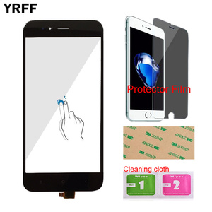 Image 2 - Touch Screen Panel For Xiaomi Mi A1 MiA1 MDG2 Touch Screen Digitizer Panel Front Glass 5.5 Mobile Protector Film Adhesive