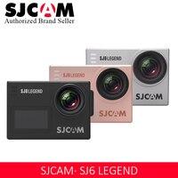Оригинальный SJCAM SJ6 Legend Novatek96660 4 K Ультра HD Экшн камера WiFi Пульт дистанционного управления экшн видео камера 16MP Водонепроницаемый Спорт