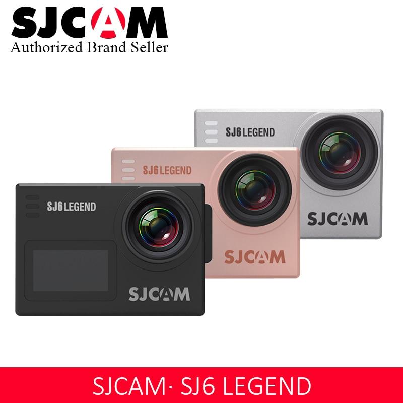 Original SJCAM SJ6 Legend Novatek96660 4 K Ultra HD caméra d'action WiFi télécommande Action vidéo Cam 16MP étanche Sport