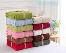 2107 Knitted Blanket Bed Banket 100% Cotton Super Soft on the bed / Sofa Cover 110*180/200*180cm Free shipping