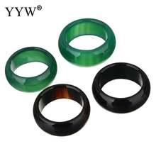 Модные кольца из натурального агата размером 7 8 9 10 Женское