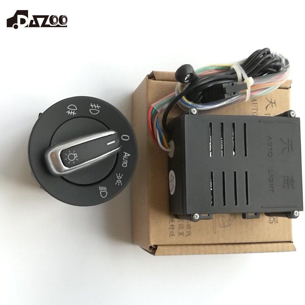 Dazoo AUTO фара передняя выключатель света Сенсор для гольфа MK4 Jetta 4 Passat B5 поло Bettle
