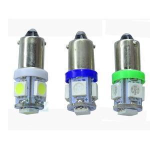 Image 4 - 50 teile/los AC DC 6,3 V T4W BA9S 5 SMD 5050 LED nicht polar Flipper spiel Maschine Glühbirne Lampe nicht geisterbilder anti flackern Birne 6V