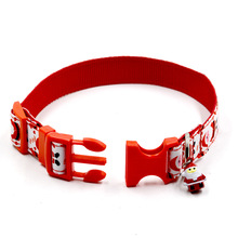 Santa Dog Collar With Charm