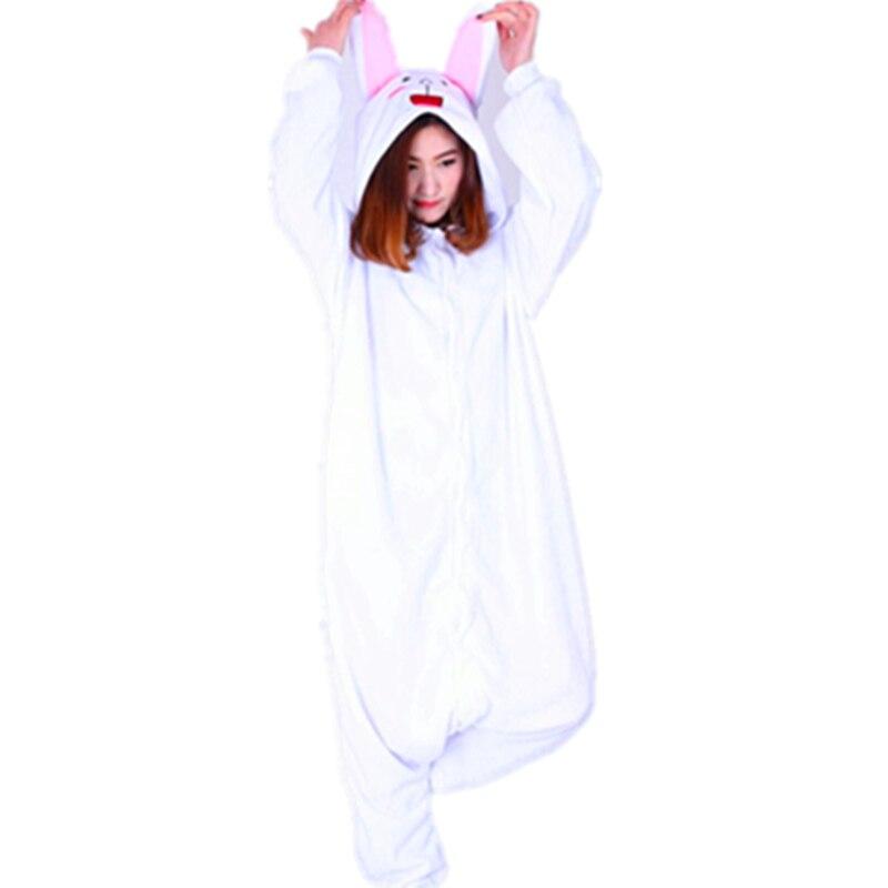 60f7e53af Anime Friends Adult Onesie Pyjamas Cartoon Animal Cosplay Costume Sleepwear  Halloween Cony Bunny Brown Cute Bear Jumpsuit Romper