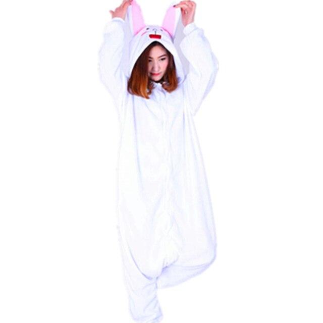 df8f2ee3a3 Anime Friends Adult Onesie Pyjamas Cartoon Animal Cosplay Costume Sleepwear  Halloween Cony Bunny Brown Cute Bear Jumpsuit Romper