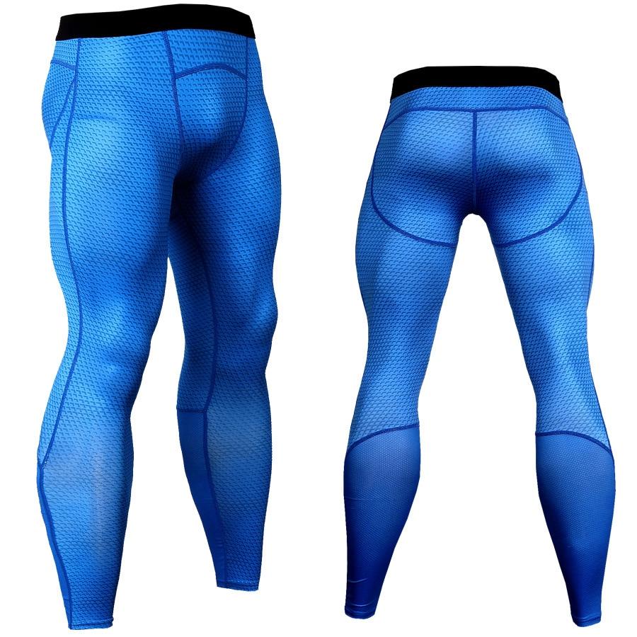 New Crossfit Compression Pants Men Fashion 3D Joggers Sportswear Sweatpants Bodybuilding Trousers MMA Leggings Fitness Tights