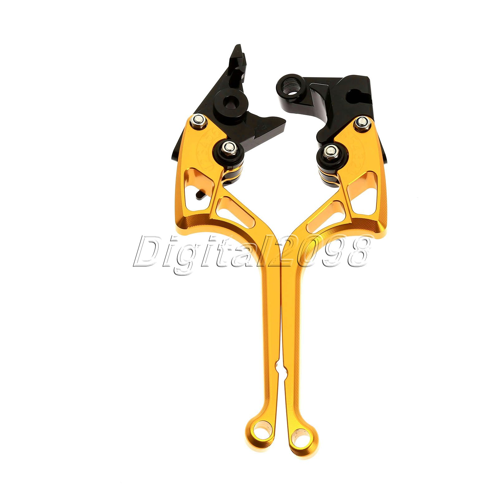 Brake Clutch Levers CNC Adjustable Levers for Honda VF750S SABRE,VFR750,VFR800/F,VTR1000F,CBF1000,VRF 1992 New Motorbike Brake 5 color for vfr 750 800 vtr1000f cbf1000 vfr750 vfr800 folding extendable brake clutch levers gold motorcycle