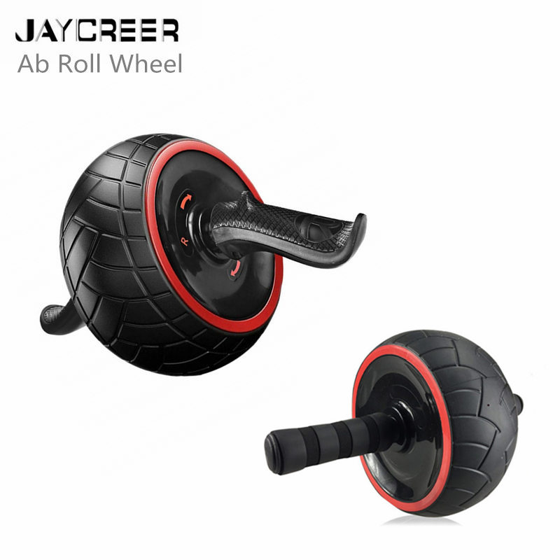 Ab Wheel Roller Training Fitness Exercise Workout Gymnastic Body Strength Core