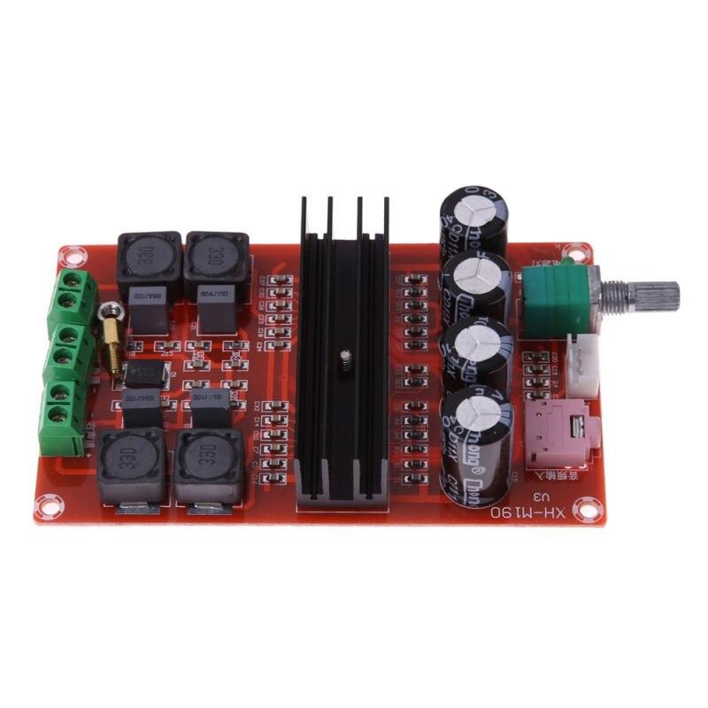 2*100W Digital Amplifier Board 12V-24V TPA3116 Dual Channel Amplifier