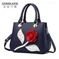Новый Дизайнерский бренд Кожа женщины сумку сладкий моды сумка женская сладкий Тиснение женская кожаная сумка