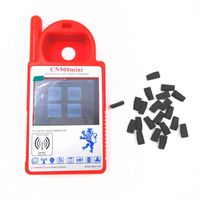 Chegada nova Mini V1.23 CN900 CN900 Programador Chave Transponder Mini 4C/4D/ID46/G Chip De Copiadora + 5 pcs para Toyota 4d67 Chip