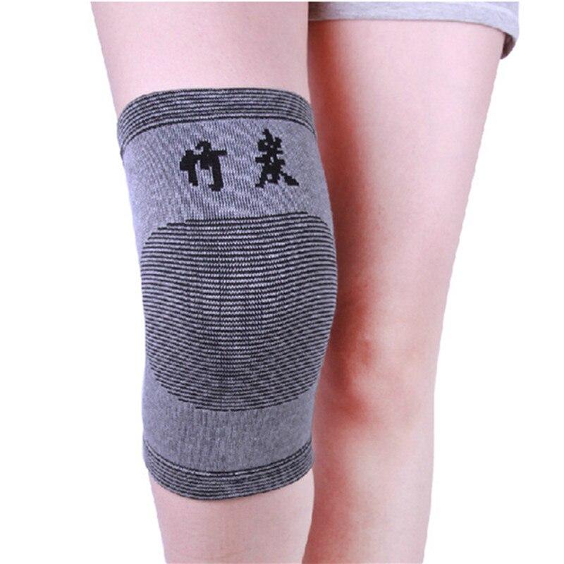 Soporte de pierna de bambú Rodilleras elásticas Rodilleras - Ropa deportiva y accesorios - foto 3