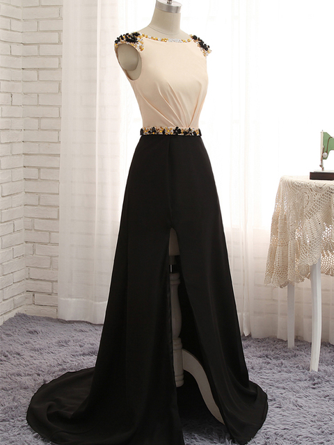 Robe De Soiree 2017 Crystal Beading Backless Long Evening Dress Party Prom Gown Vestidos De Festa Vestido Longo Para Casamento