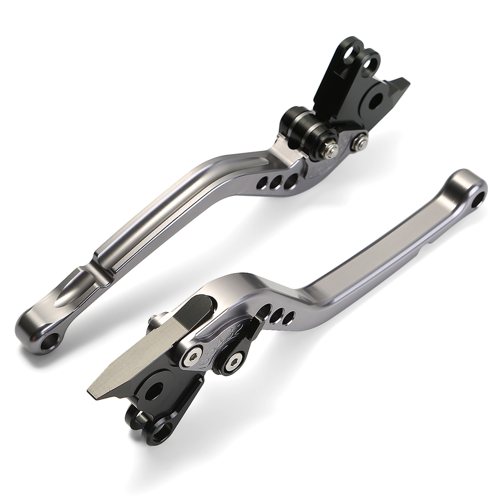 CNC Aluminum Adjustable Long Brake Clutch Levers For BMW K1600GT/GTL/K1200S/R/SPORT/R1200R/S/ST/GS/ADVENTURE/RT/SE/K1300S/R/GT adjustable billet long folding brake clutch levers for bmw k1600 gt gtl 11 14 12 13 k1300 k1200 r s r1200 r rt s st gs 04 14 05