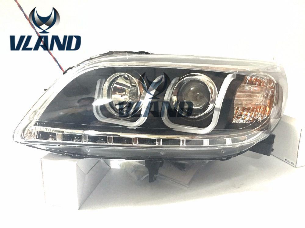 Free shipping vland factory auto car styling 2012-2015 for MALIBU LED headlight HID(Xenon lamp) accessories headlamp