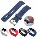 Correia de Substituição de Silicone macio para Para Fitbit Carga 2 Freqüência Cardíaca Inteligente Pulseira Pulseira Cinto Wearable Para Fitbit Carga 2