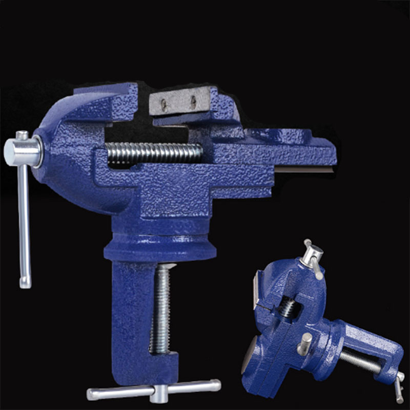 High quality 65mm small mini bench vice vise vice vise universal vise 360 degree rotation Woodworking tools цена