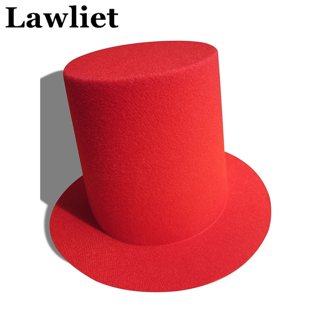 2598f04b7f94e 20pcs Mini Top Tall Hat High 9cm Millinery Fascinator Base DIY Craft  Alligator Clips EVA Women A006