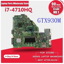 Moederbord X550J Laptop 4GB