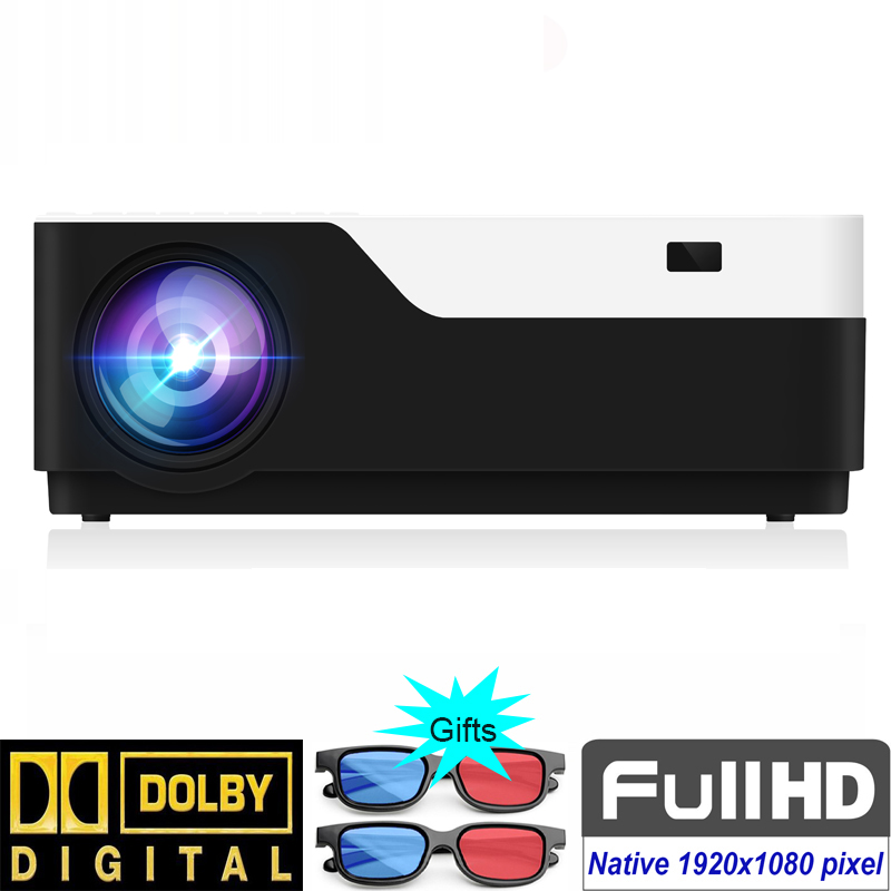 Image 2 - SmartIdea M18 Native 1920x1080 Full HD Projector LED 3D Home Cinema Proyector 5500lumens Android Video game LCD 1080P BeamerLCD Projectors   -
