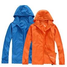 Women Skin Jackets Waterproof Anti-UV Coats Outdoor Sports Clothing