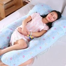 Maternity Body Pillow Comfy U-Shape Pregnant Women Side Sleepers Soft Belly Contoured Nursing