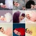 12 Cores Newborn Fotografia Props Traje Infantil Roupa Do Bebê Da Princesa Saia Tutu Headband Do Bebê Fotografia Adereços