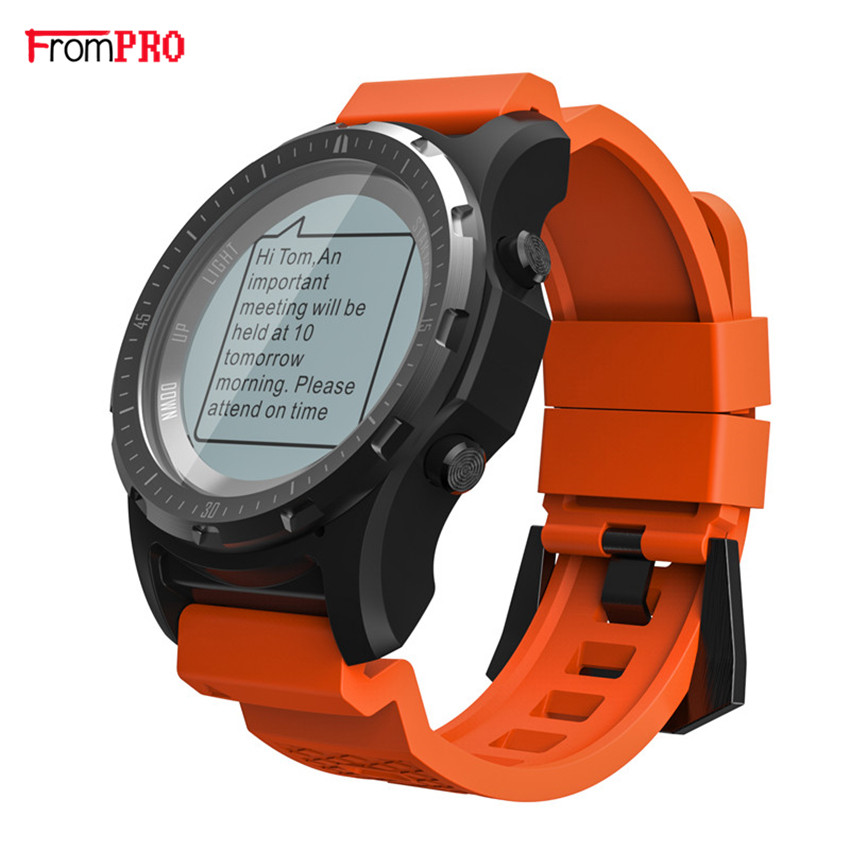 Smart Watch S966 Best GPS Outdoor Heart Rate Monitor Multi-sport Compass Cycling Sport Watch Altitude Temperature Wristwatch цена