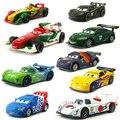Disney Pixar Cars Racer Франческо Бернулли Карла велосо Шу Тодороки, металлическая литая игрушка, автомобиль 1:55, свободная, совершенно Новая и бесплат...