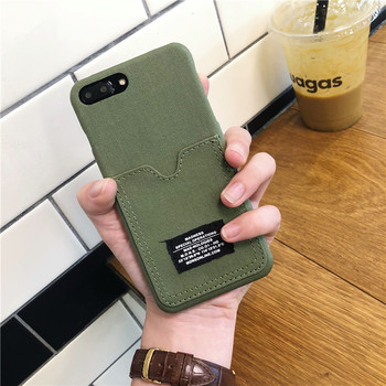 Hot Limited 2019 Edition Camouflage Phone Case With Card Holder For iPhone 1