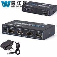 1 In 4 OUT HDMI 1 4 Splitter 1X4 HD 1080P 3D Duplicator Amplifier Switch Hdmi