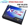 2017 Auto Professional ECU Programming Main Unit KTAG V2.13 HW6.070 100% J-Tag Compatible K-TAG No Tokens Limited K TAG Master