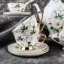 Bone china Coffee cup ceramic tea European set English afternoon and saucer household teapot married gifts