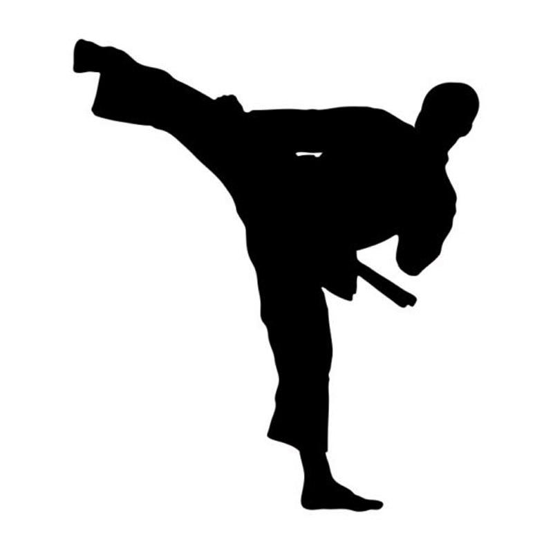 Car Wallpaper App 10 6 12 2cm Taekwondo Karate Handsome Boy Car Stickers