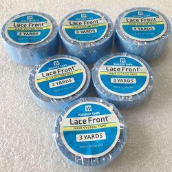 3 metros Azul lace suporte frente fita para peruca peruca fita adesiva fita dupla face para a extensão do cabelo da fita