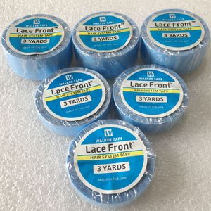 3 yards Blue lace front support tape for wig toupee tape double side tape for tape hair extension(China)