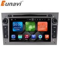 Eunavi Android 6.0 RAM 2G 2 DIN ODTWARZACZ DVD RADIO GPS EKRAN Dla Opel Astra H G J Zafira Vectra Antara Corsa