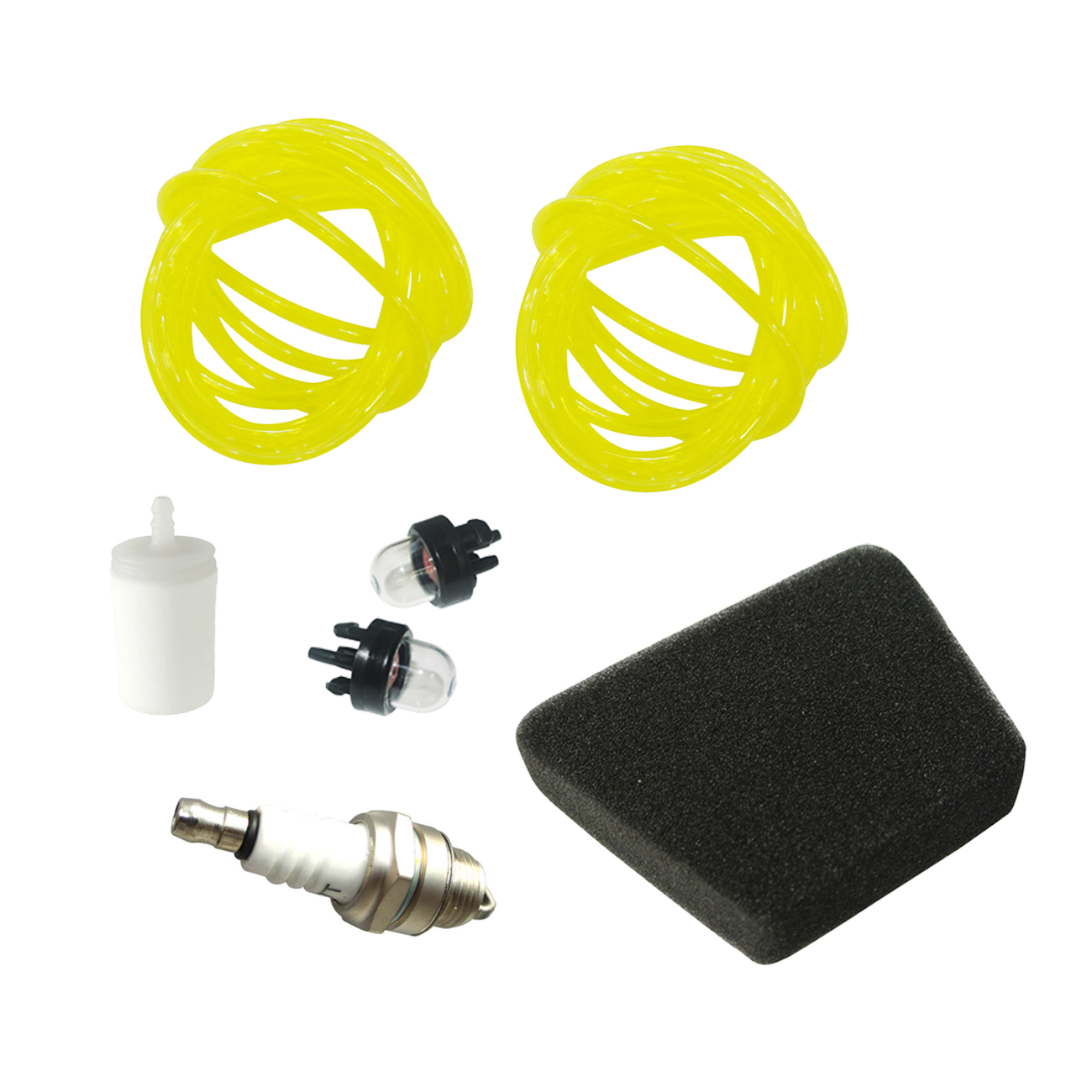 Primer bulb 188-513 Fuel Line Air filter 530037793 Kit Replaces Poulan <font><b>Chainsaw</b></font> image